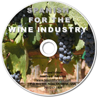 Spanish for the wine industry CD
