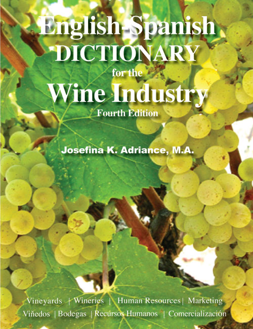 book-english-spanish-dictionary-wine-industry